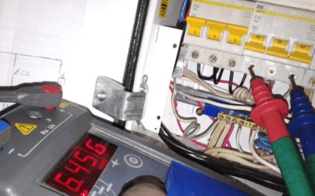 Измерение изоляции мегаомметром